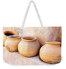 Clay Pots Weekender Tote Bag by Kerri Mortenson
