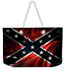 Confederate Flag Weekender Tote Bag by Les Cunliffe