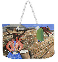 Cotton Pickin' Cotton Weekender Tote Bag