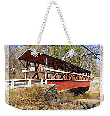 Covered Bridge In Pa. Weekender Tote Bag