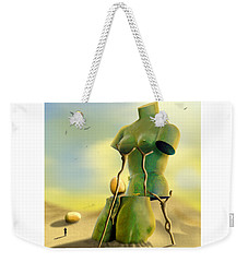 Crutches Weekender Tote Bag