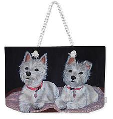 2 Cute Weekender Tote Bag