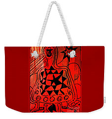 Weekender Tote Bag featuring the drawing Cute Gismo by Leanne Seymour
