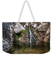 Darwin Falls Weekender Tote Bag by Cat Connor