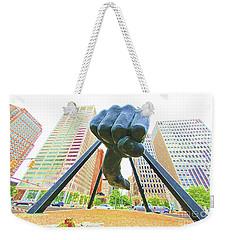 Detroit Fist Weekender Tote Bag