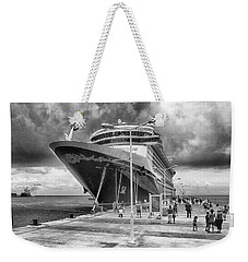 Weekender Tote Bag featuring the photograph Disney Fantasy by Howard Salmon