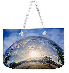 Distorted Reflection Weekender Tote Bag by Sennie Pierson