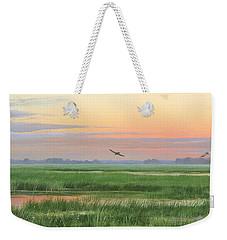 Divine Whisper Weekender Tote Bag by Mike Brown