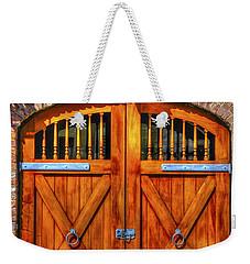 Doors Of Charleston Weekender Tote Bag