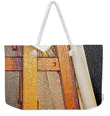 Draped Easel Weekender Tote Bag