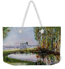 Fairhope Al. Duck Pond Weekender Tote Bag