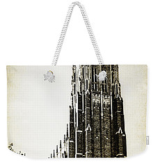 Duke Chapel Weekender Tote Bag by Emily Kay