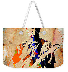 Eric Clapton Collection Weekender Tote Bag by Marvin Blaine