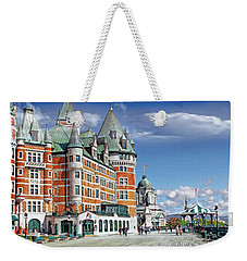 Fairmont Le Chateau Frontenac Series 01 Weekender Tote Bag