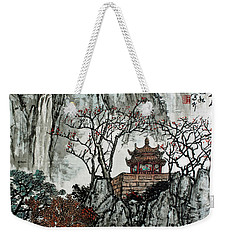 Weekender Tote Bag featuring the photograph Fall Colors by Yufeng Wang