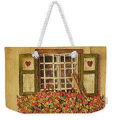 Farm Window Weekender Tote Bag