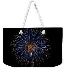 Fireworks Bursts Colors And Shapes Weekender Tote Bag
