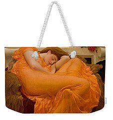 Flaming June Weekender Tote Bag