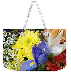 Floral Bouquet 4 Weekender Tote Bag