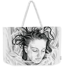 Forget Me Not - Laura Palmer - Twin Peaks Weekender Tote Bag by Fred Larucci