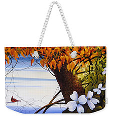 Four Seasons In One Day Weekender Tote Bag