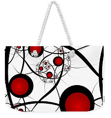 Fractal Balance Weekender Tote Bag by Gabiw Art