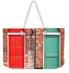 Front Doors Weekender Tote Bag