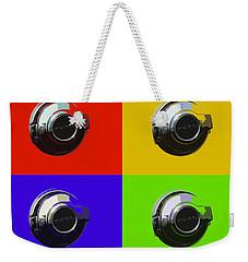 Fuel Cap In Bold Color Weekender Tote Bag