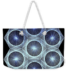 Fusion Weekender Tote Bag by Jason Padgett