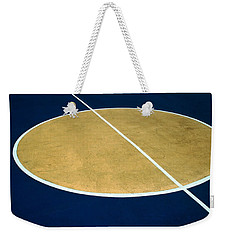 Geometry On The Basketball Court Weekender Tote Bag by Gary Slawsky