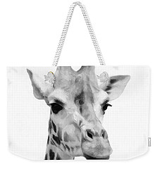Giraffe On White Background  Weekender Tote Bag