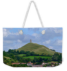 Glastonbury Tor Weekender Tote Bag