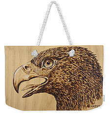 Golden Eagle Weekender Tote Bag by Ron Haist