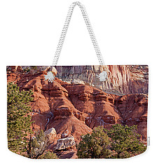 Golden Throne Capitol Reef National Park Weekender Tote Bag