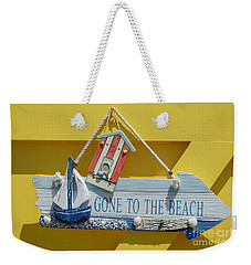 Gone To The Beach Weekender Tote Bag
