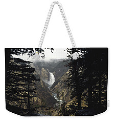 Grand Canyon Of The Yellowstone-signed Weekender Tote Bag