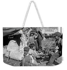 Weekender Tote Bag featuring the photograph Gypsies, C1923 by Granger