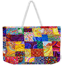 Hand Made Quilt Weekender Tote Bag by Sherman Perry