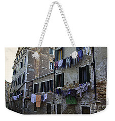 Hanging Out To Dry In Venice Weekender Tote Bag