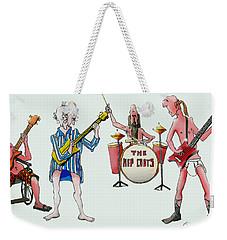 Sixties And Seventies Musicians Weekender Tote Bag