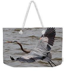 Heron In Flight. Weekender Tote Bag