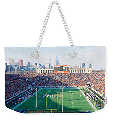 High Angle View Of Spectators Weekender Tote Bag by Panoramic Images