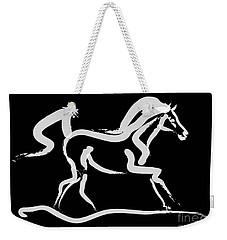 Horse-runner Weekender Tote Bag