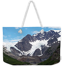 Ice And Snow Weekender Tote Bag by Aimee L Maher Photography and Art Visit ALMGallerydotcom