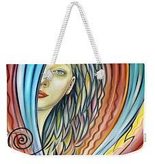 Illusive Water Nymph 240908 Weekender Tote Bag by Selena Boron