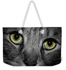 In A Cats Eye Weekender Tote Bag