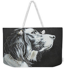 Intent Weekender Tote Bag by Jeanne Fischer
