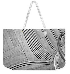 Intersection Of Lines And Curves Weekender Tote Bag