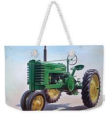 John Deere Tractor Weekender Tote Bag