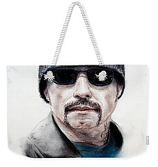 John Travolta In The Taking Of Pelham 123  Weekender Tote Bag by Jim Fitzpatrick